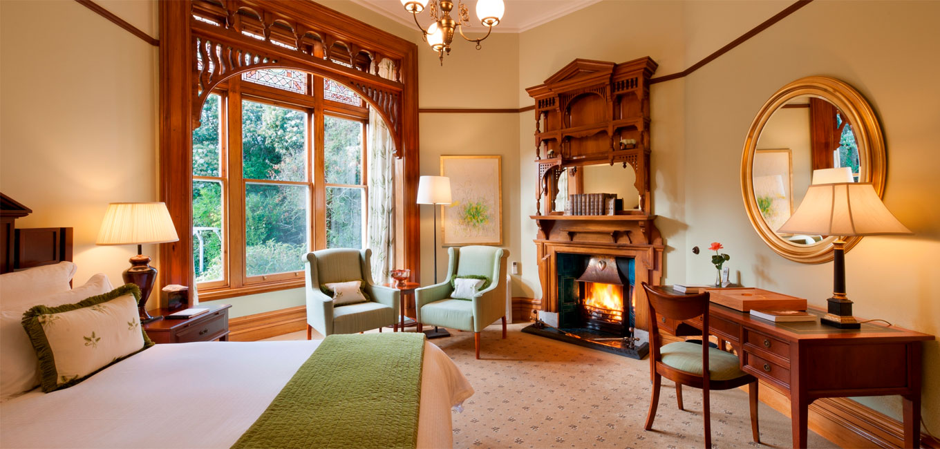 The Botanical Suite at Otahuna Lodge