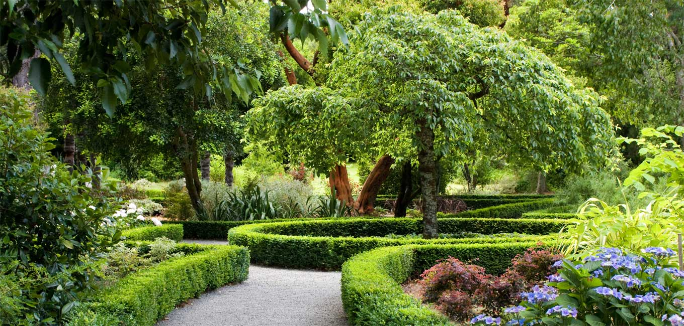 The Dutch Garden at Otahuna Lodge