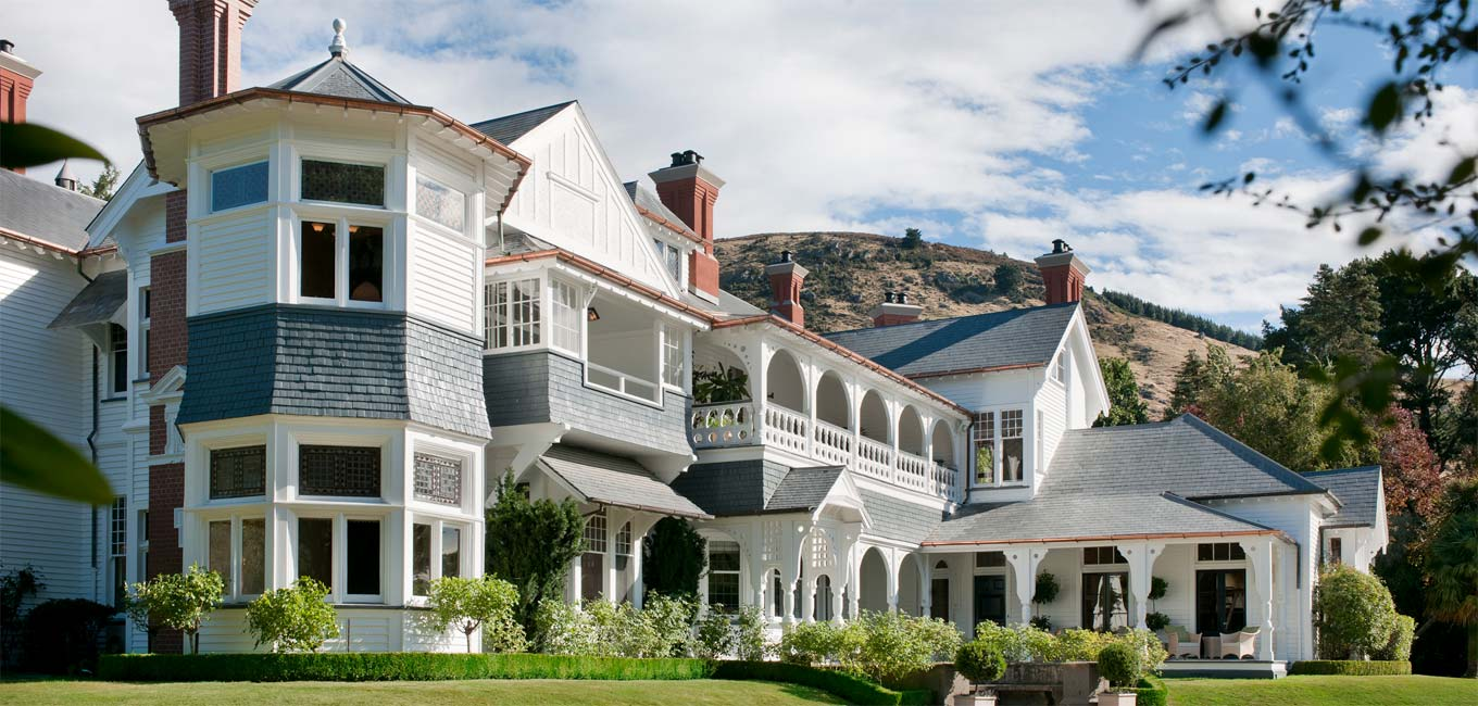Otahuna Lodge, Luxury Accommodation in New Zealand