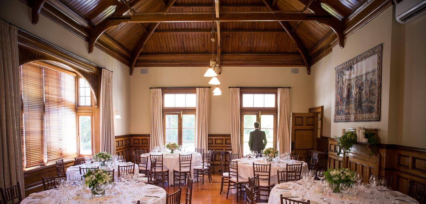 Special occaisons at Otahuna Lodge